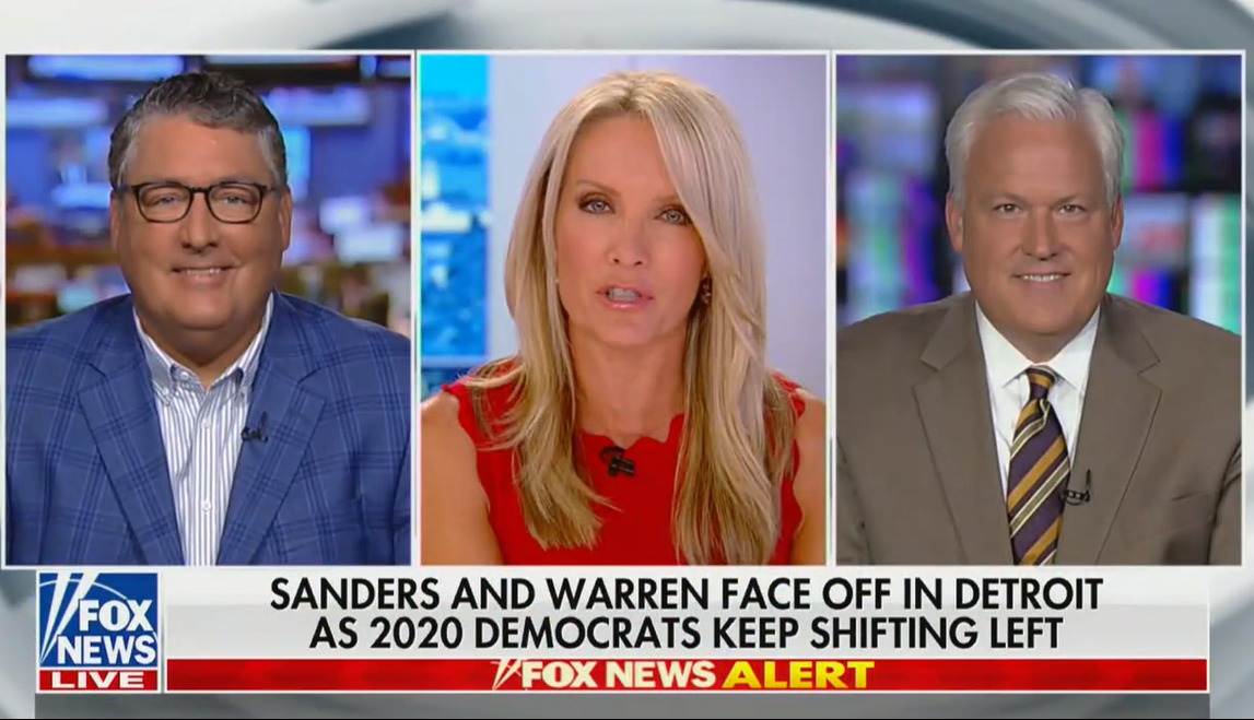 SQComms CEO Michael Meehan Discusses Democratic Primary Debates with Dana Perino, July 30, 2019