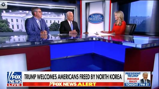 President & CEO Michael Meehan's Fox News Appearance May 10, 2018